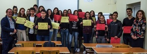 TrashedWorld certificates for French Grammar School students in Plovdiv!